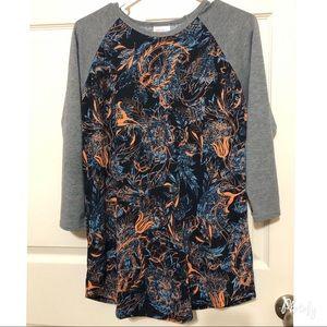 Lularoe quarter sleeve shirt